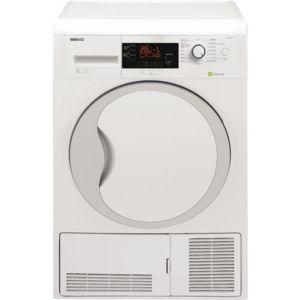 beko s che linge pompe chaleur dpu8341x inox 8kg achat s che linge condensation a. Black Bedroom Furniture Sets. Home Design Ideas