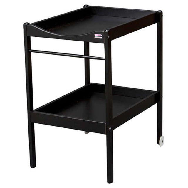 Combelle - Table à Langer 2 Plateaux Alice - Noir laqué