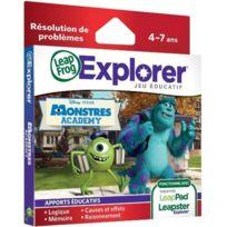 Leapfrog - Jeu leappad / leapster explorer monstre academy