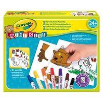 Crayola Mini Kids - Mon Premier Coffret Puzzle Autocollant