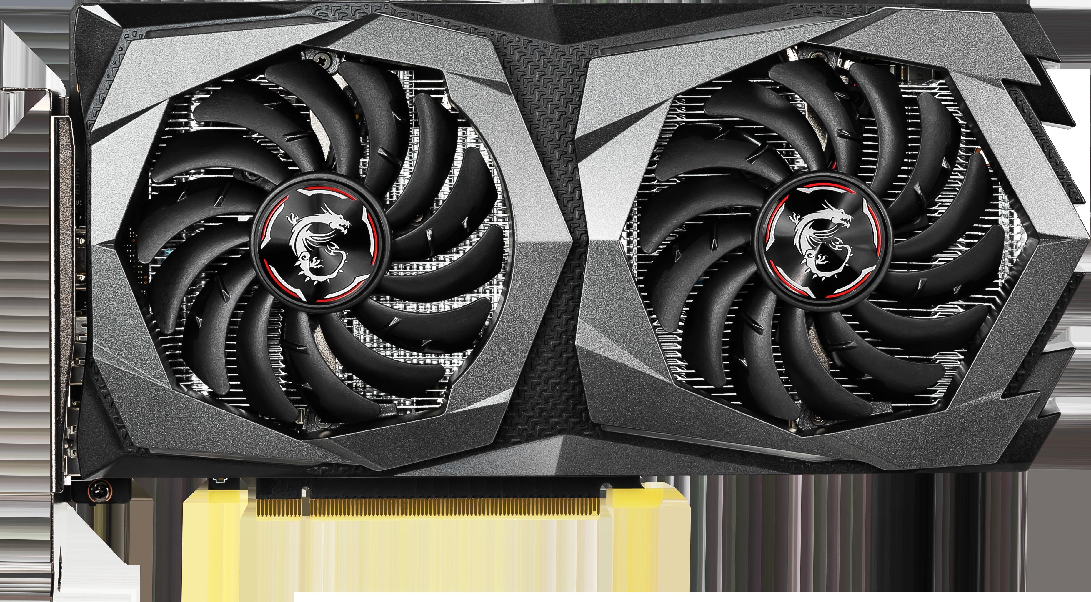 Carte Graphique Geforce GTX 1650 Gaming X 4 Go MSI