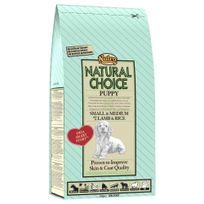Nutro Natural Choice - Croquettes à l'Agneau et Riz pour Petit et Moyen Chiot - 2Kg