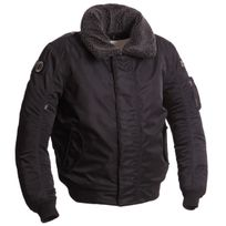 Segura - blouson bombers hiver moto scooter Mitchell sportswear homme noir étanche Stb690 2XL