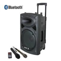 LOTTO - Enceinte colonne - PORT 8 VHF BT - Noir