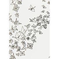 Parure de lit origami 100% coton 240x220 cm