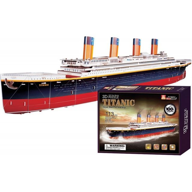 SMALL FOOT COMPANY Puzzle 3D Titanic
