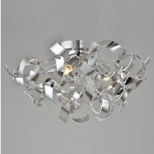 kosilum lustre plafonnier contemporain curly 40cm x 40cm x 40cm pas cher achat vente. Black Bedroom Furniture Sets. Home Design Ideas