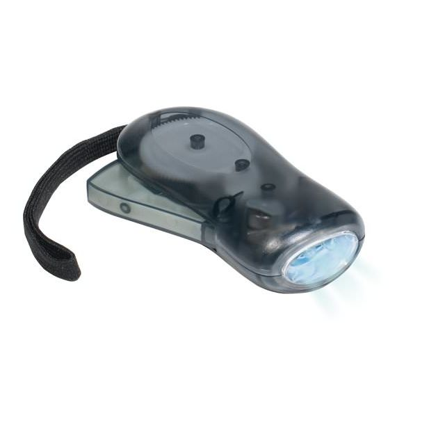 Dagtronics - Lampe dynamo noire