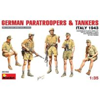Mini Art - Miniart 1:35 - German Paratroopers And Tankers ITALY 1943