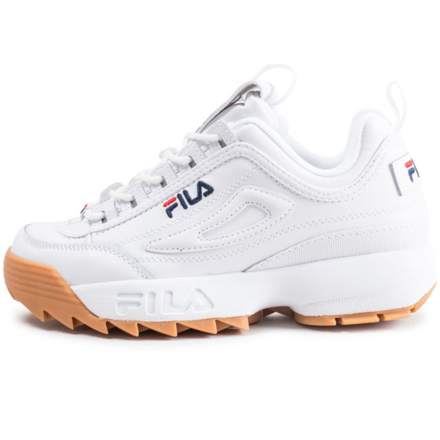 Fila Disruptor ll homme blanche Chaussures Baskets homme