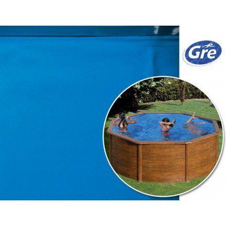 gre pools liner bleu gre pool pour piscine hors sol ronde 3 00 x h 1 20 m pas cher achat. Black Bedroom Furniture Sets. Home Design Ideas