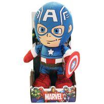 MARVEL - Peluche 30 cm Captain America