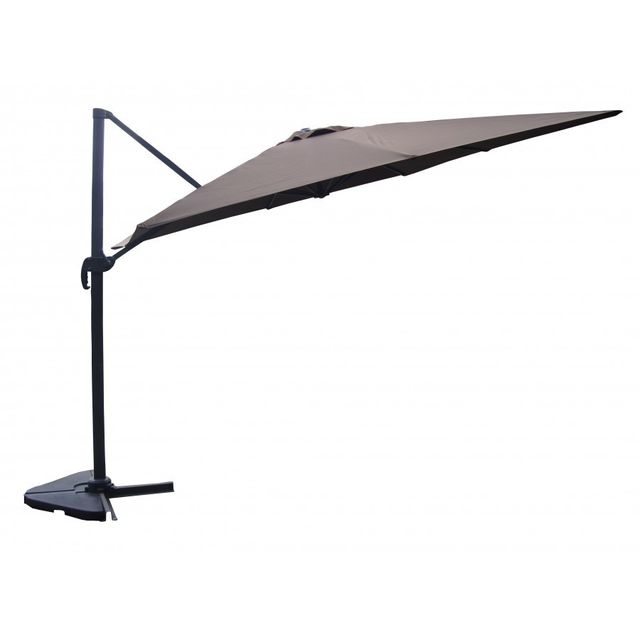 Rocambolesk magnifique proxima chocolat parasol - Parasol deporte rectangulaire 3x4m ...