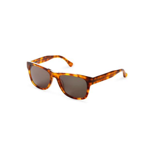 Calvin Klein - Lunettes de soleil Ck4288S - Écaille - pas cher Achat    Vente Lunettes Aviateur - RueDuCommerce 76df9512b311