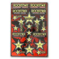 Rockstar Games - Planche autocollant - Rockstar - Dirt bike / Pit bike / Mini Moto