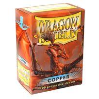 Arcane Tinmen - Dés et Accessoires - 10016 Deck Box Dragon Shield 100 Deck Protectors Copper