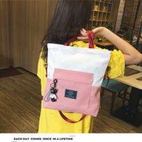 29c2246a2a Wewoo - Sac porté épaule Canvas à bandoulière grande capacité pour femme à  main simple fourre