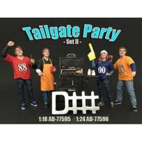 American Diorama - Figurines Tailgate Party - Set Ii - 1/18 - 77595