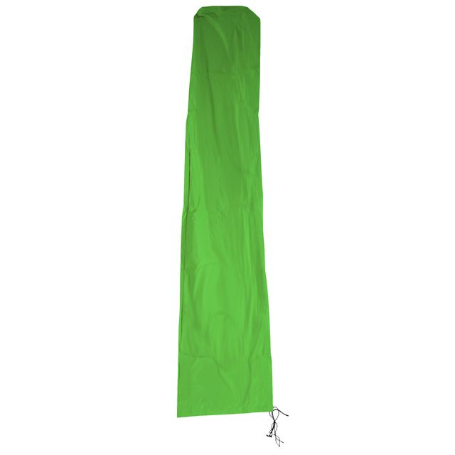 Mendler Housse de protection N22 pour parasol jusqu'à 4 m, gaine de protection avec zip ~ vert