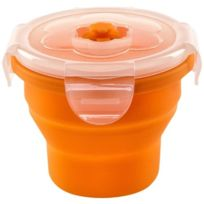 Nuvita - Nu-ppcp0014 BoÎTE RÉTRACTABLE En Silicone Orange 230 Ml