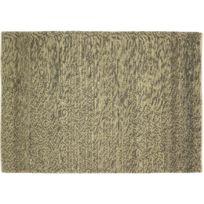 Vivabita - Tapis noué main en coton et laine naturel Kingstown
