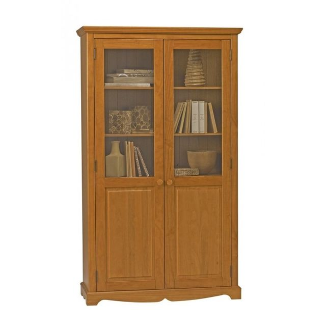 Beaux Meubles Pas Chers Bibliothèque Pin Miel de Style Anglais 93cde94a6368
