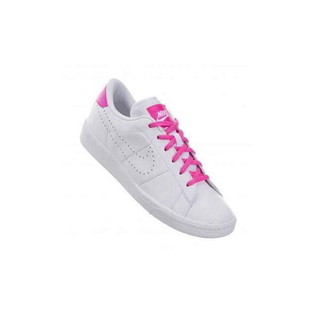sports shoes b84e2 ecca7 Nike - Tennis Classic Prm Gs - 834151-106 - Age - Adolescent, Couleur -  Blanc, Genre - Mixte, Taille - 36,5 - pas cher Achat   Vente Chaussures  basket - ...