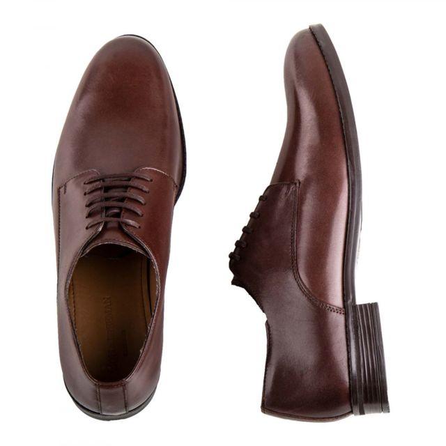 Mason & Freeman Chaussures Derbies en cuir lisse Georges Homme