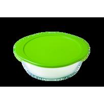 PYREX - Plat en verre avec couvercle - 4936454