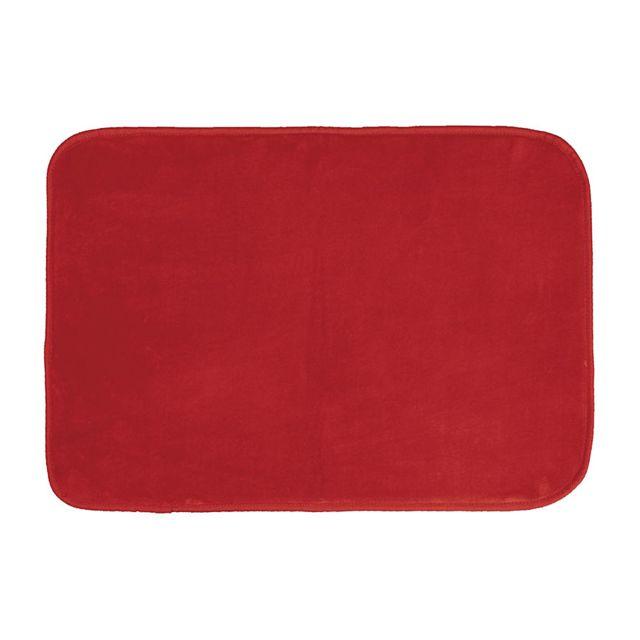 Douceur D'INTERIEUR Tapis velours Louna 120x170 rouge