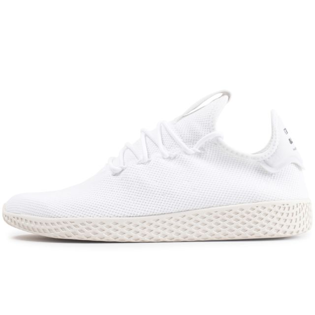Pharrell Williams Tennis Hu Triple Blanc