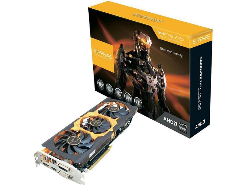 Radeon R9 270X Tri-X OC With Boost 11217-11-40G