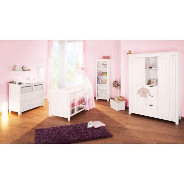 COMFORIUM - Set de 3 pièces pour chambre bébé avec lit évolutif ...