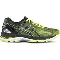 Asics - Gel Nimbus 19 Jaune Fluo Et Noire chaussure running