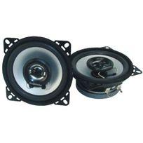Topcar - 2 hauts parleurs auto 50W MédiaMobil diamètre 100 mm Ref: 902734