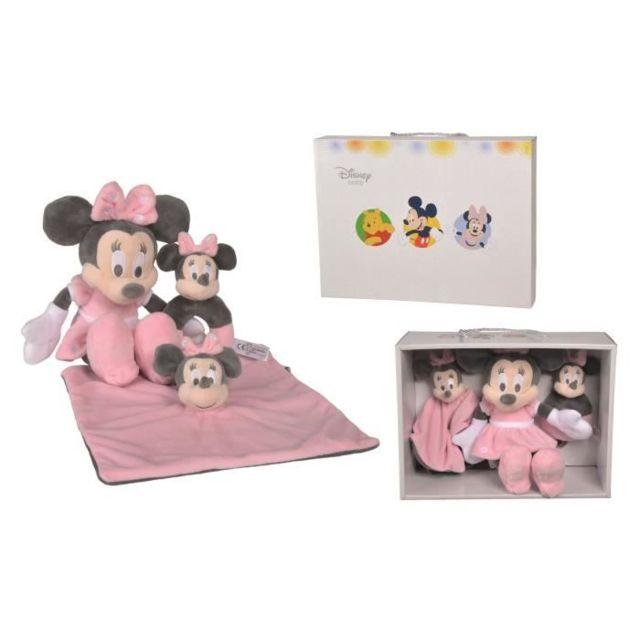 DOUDOU Tonal Pink Minnie - Set cadeau