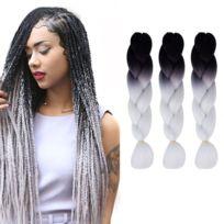 Coloration sur de longs cheveux noirs 2019