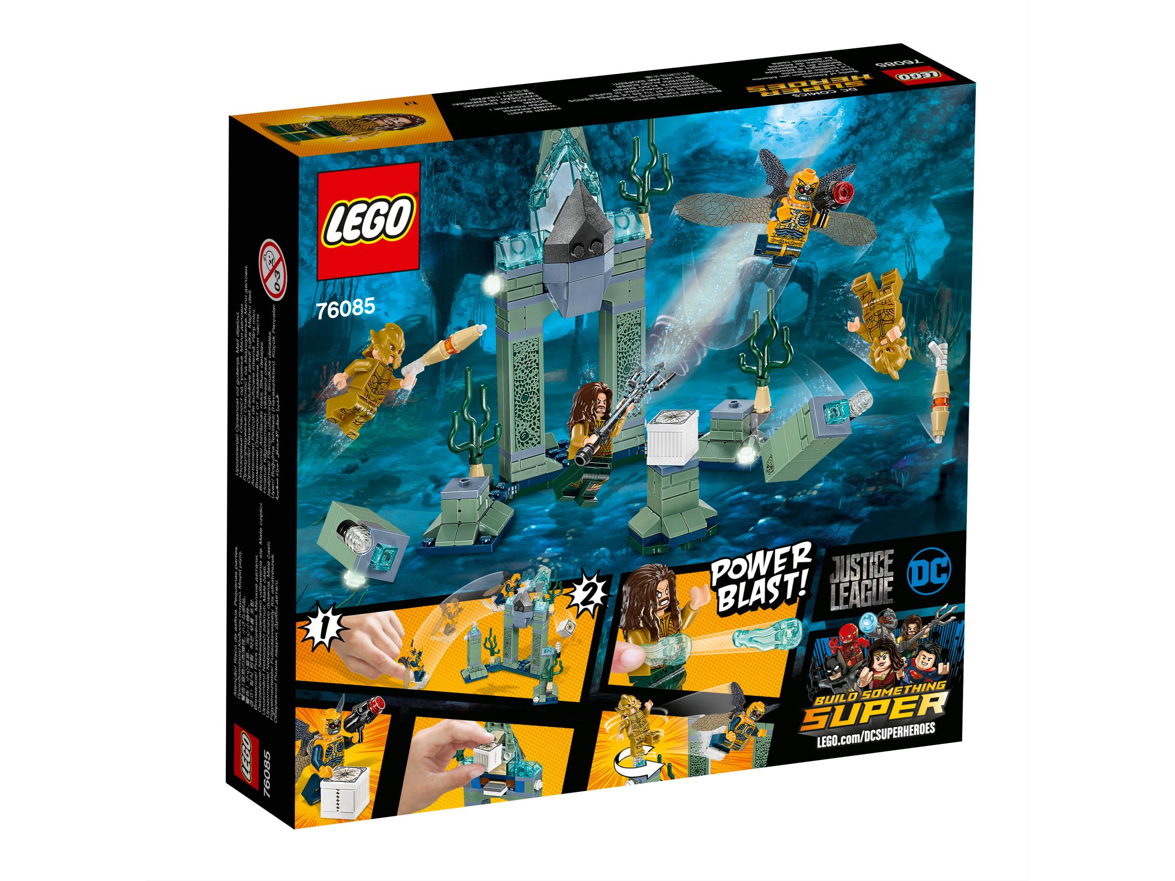 La bataille d'Atlantis