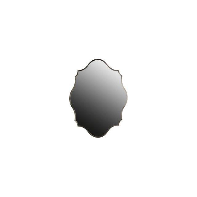 Miliboo Miroir laiton argent 70x94cm Majorelle