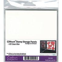 """Crafter's Companion - Compagnon Ezmount Cd Affaire Stockage De Crafter Panneaux 10/PKG-4.75""""X4.75"""