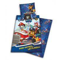 Paw Patrol - Parure de lit Pat Patrouille Pompier bleu