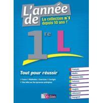 Bordas - L'ANNEE De ; 1re L ; tout pour réussir édition 2016