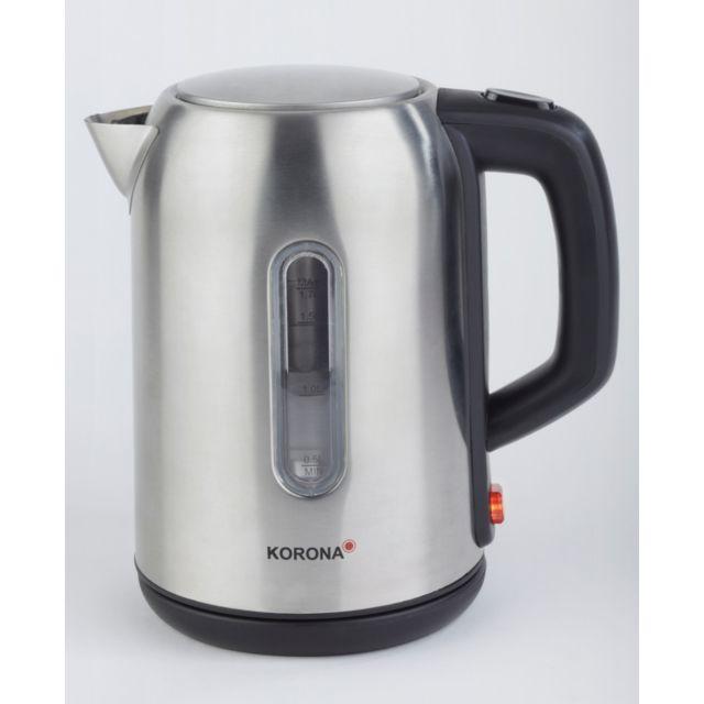 KORONA bouilloire sans fil 1,7l 2200w inox - 20350