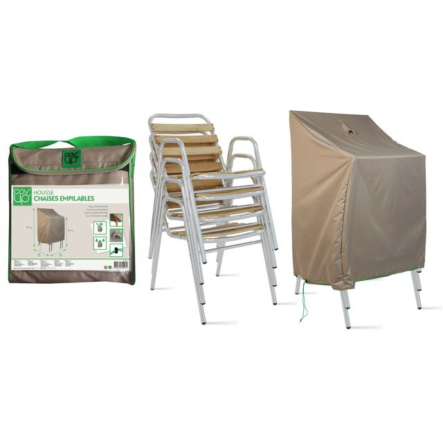 oviala housse de protection pour chaises de jardin. Black Bedroom Furniture Sets. Home Design Ideas