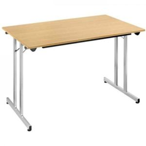 Sodematub naudin table pliante 140 x 80 cm plateau - Table d appoint pliable ...