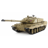 HENG-LONG - Char British Challenger 2 1/16 RTR 2.4Ghz Sons/Fumée/billes