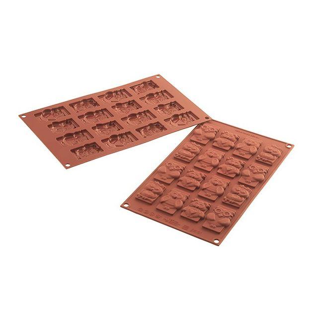 SILIKOMART moule à chocolat 16 cavités silicone - 26.199.77.0065