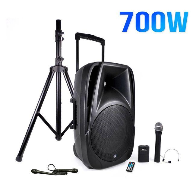 Mydj Enceinte mobile 700W 12