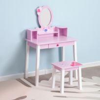 coiffeuse enfant bois achat coiffeuse enfant bois pas cher rue du commerce. Black Bedroom Furniture Sets. Home Design Ideas