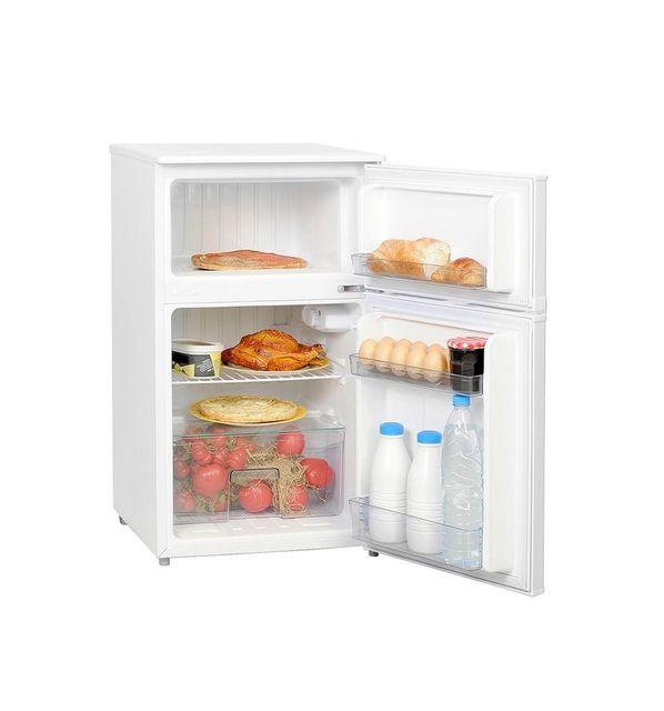 FRIGELUX Réfrigérateur 2 portes - 90L - Froid ventilé - Classe A